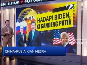 China-Rusia Kian Mesra