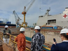Jreng! Tim Perancis Blusukan ke PT PAL, Kapal Selam Prabowo?