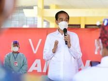 RI Capai Herd Immunity, Jokowi : Covid Mau Datang, Mental!
