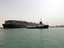 Wadaw, Kapal Raksasa 'Biang Kerok' Terusan Suez Macet Ditahan
