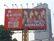 MAMAMOO Bakal Guncang TV Show Shopee 4.4 Mega Shopping Day