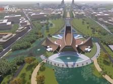 Jokowi Sudah Terima RUU Pindah Ibu Kota, Istana Dibangun 2021