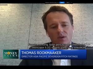 Fitch Ratings Proyeksi Ekonomi RI 2021 Bisa Tumbuh 5,3%