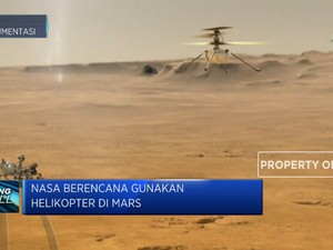 NASA Bakal Eksplorasi Planet Mars Dengan Helikopter