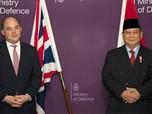Prabowo 'Sowan' Menhan Inggris di London, Bahas Apa?