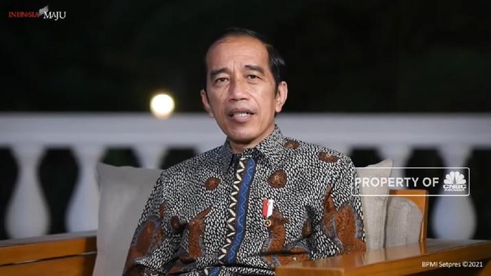 Presiden Jokowi Pastikan Tak Impor Beras Hingga Juni 2021(CNBC Indonesia TV)