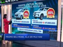 Promo Beli Mobil Ala Sri Mulyani