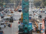 Progres Proyek MRT Fase II Bundaran HI-Harmoni, Tuntas 2025!