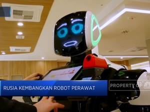 Robot Perawat Di Rumah Sakit