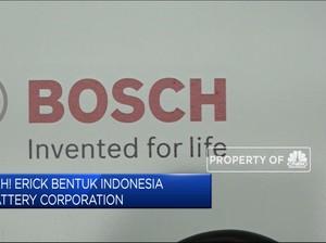 Sah! Erick Bentuk Indonesia Battery Corporation
