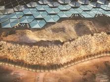 Melihat Desain Komplek Perumahan Manusia di Planet Mars