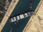 Ever Given Nyangkut di Suez, Mesir Minta Kompensasi Rp 14,5 T