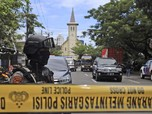 Potret Terkini Lokasi Bom Gereja Katedral Makassar