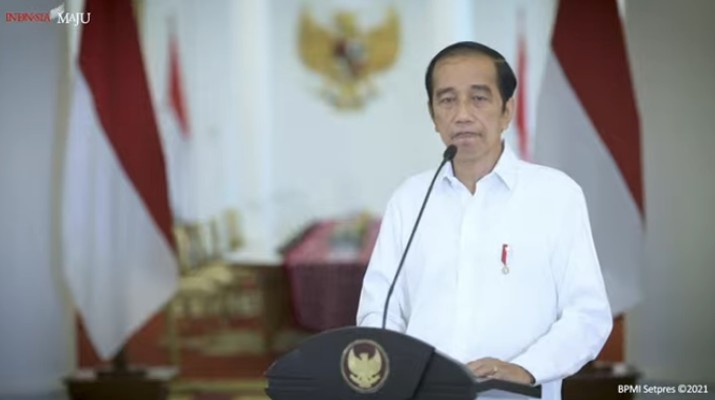 Pernyataan Presiden Joko Widodo Terkait Aksi Terorisme di Makassar (Tangkapan Layar Youtube Sekretariat Presiden)