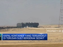Upaya Evakuasi Kapal Ever Given di Terusan Suez