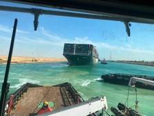 Kapal Ever Given Bebas, Ini Potret Terbaru Terusan Suez