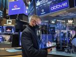 AS Mulai Tanpa Masker, Bursa Wall Street Melambung Tinggi
