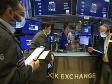 Dow Dibuka Drop Gara-Gara Inflasi Lebih Tinggi dari Estimasi