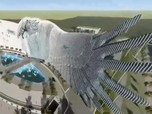 Viral! Penampakan Istana di Ibu Kota Baru Berbentuk Garuda