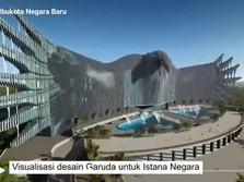 Beredar! Penampakan 'Istana Garuda' Jokowi di Ibu Kota Baru
