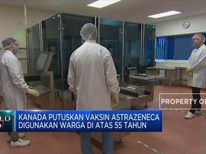 Kanada Setop Vaksin Astrazeneca untuk Warga di Bawah 55 Tahun