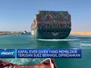 Dampak Ekonomi Dari Kandasnya Ever Given di Terusan Suez