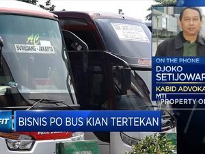 Keluhkan Larangan Mudik, MTI: Bisnis PO Bus Kian Tertekan