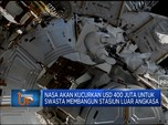NASA Siapkan USD 400 Juta Bangun Stasiun Luar Angkasa Swasta