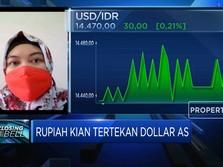 Tertekan Sentimen Eksternal, Rupiah Tembus Rp 14.470/USD
