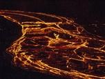 Sangar! NASA Potret Erupsi Gunung Islandia dari Angkasa