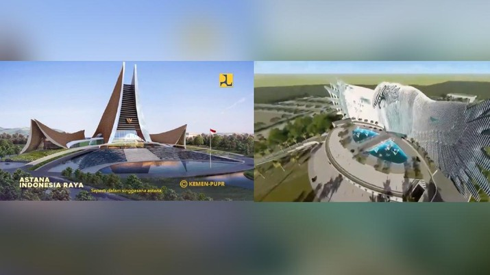 Desain Istana Presiden  (Ist)
