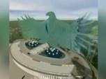 Terungkap! Ini Desainer Istana Garuda Jokowi di Ibu Kota Baru