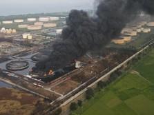 Fakta-Fakta Kebakaran Kilang Balongan Pertamina