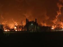 Ombudsman Sebut 2 Korban Kebakaran Kilang Balongan Meninggal