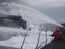 Fire Fighting Intensif, Pertamina Padamkan Seluruh Titik Api
