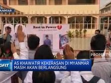 Situasi Makin Memanas, AS Tarik Diplomat Dari Myanmar