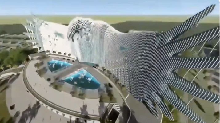 Desain Burung Garuda Istana Negara