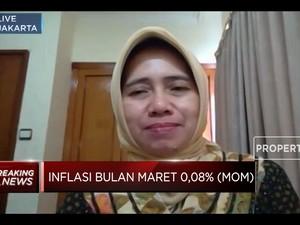 Ekspektasi Pemulihan Ekonomi Belum Pulih,Inflasi Maret Rendah