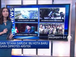 Desain 'Istana Garuda' DKI Baru Hingga Tunjangan & Gaji PNS