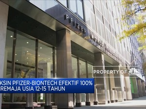 Vaksin Pfizer-BioNTech Efektif 100% ke Remaja 12-15 Tahun
