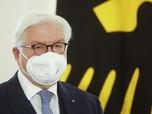 Presiden Jerman Disuntik Vaksin Covid-19 AstraZeneca