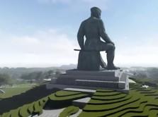 Wow! Desainer Istana Garuda Juga Bikin Patung Raksasa Sukarno