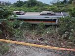 Begini Evakuasi Kecelakaan KA di Taiwan Makan 41 Korban Jiwa