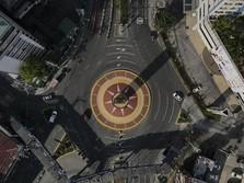 Lockdown Filipina Buat Jalan Kosong di Tengah Libur Paskah