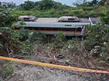 Usai Kecelakaan Maut Kereta Api, Menhub Taiwan Resign!