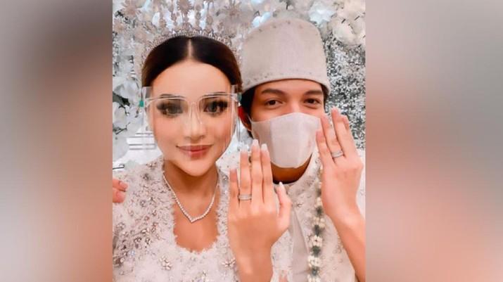 Pernikahan Atta Halilintar Aurel Hrmansyah (Instagram/@AttaHalilintar)