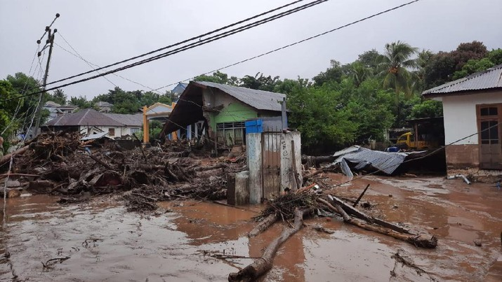 Bencana Banjir bandang di Waiburak-Waiwerang, Flores NTT (Ist)