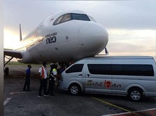 Bus Tabrak Hidung Pesawat Batik Air, Kok Bisa?