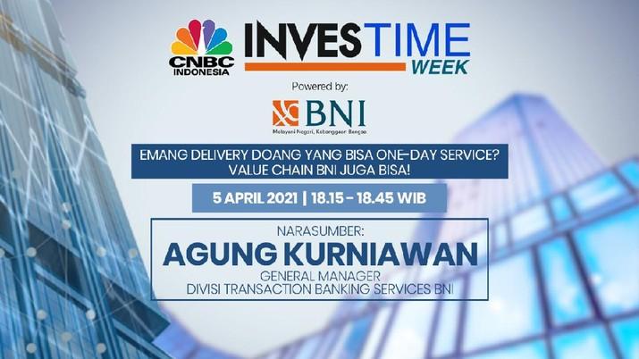 Agung Kurniawan, General Manager Divisi Transaction Banking Services BNI