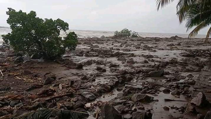 Banjir bandang dan longsor di Kabupaten Flores Timur, NTT. (Dok. BNPB)